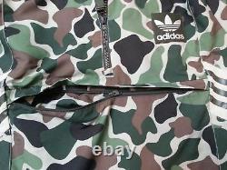 New Adidas Camo Superstar Track Top Jacket Hoody Cagoule Hoodie Jacket Army