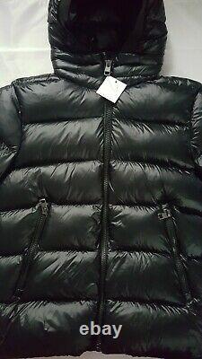 New Calvin Klein Men's Extreme Slim-Fit Hooded Down Black Jacket Size L