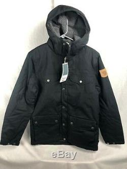 New Fjallraven Greenland Winter Jacket Black Men S M L XL Insulated Sherpa Lined