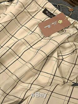 New Loro Piana Men's Gray Luxury Jacket $1.8k Size 50 Rare