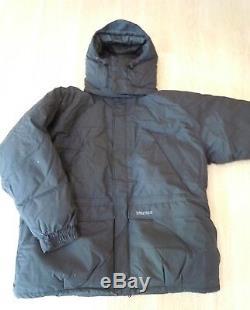 New Marmot Yukon Parka #9738 Black 3XL MemBrain Shell Down Jacket