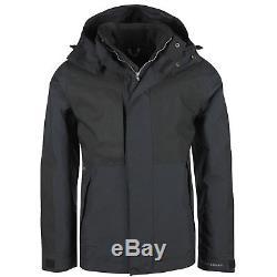 New Mens GORE TEX Jacket Heavy Duty Waterproof Windproof Fleece Lined Rain Coat