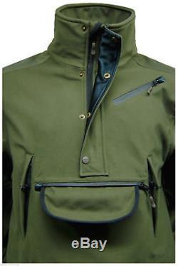 New Mens Game Anorak Waterproof Hunting Smock Stalking Jacket Shooting Coat