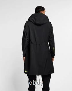 New Nike NIKELAB ACG GORE-TEX MEN'S Black Yellow JACKET Coat AQ3516-010 size M