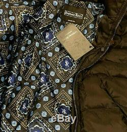 New Stefano Ricci Men's Black Luxury Goose Down Winter Jacket $5k Size 54