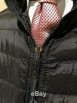 New Stefano Ricci Men's Black Luxury Goose Down Winter Jacket $5k Size 56