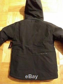 New Tesla winter jacket thermolite Black