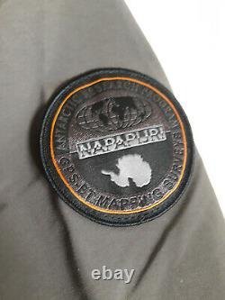 New With Tags Mens NAPAPIJRI Rainforest Jacket Dark Grey Size UK XLarge RRP £180