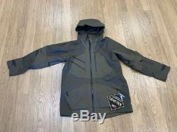 New-men's North Face Gore-tex Fuse Brigndine Jacket, Olive Green, Medium $395