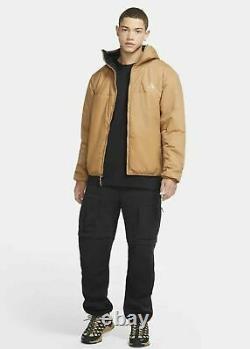 Nike ACG Primaloft Jacket Men's Rope De Dope Packable Training Brown CV0640-218