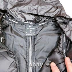 Nike Aeroloft Repel Jacket Men's Reflective Running Packable Black CU7792-010