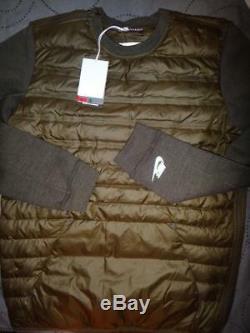 Nike Aeroloft Thermosoft 800 Fill Down Tech Jacket Size L M Men Nwt $180.00