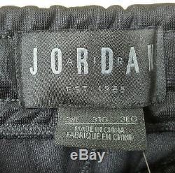 Nike Air Jordan Basketball Track Suit Jacket + Pants Black New (size 4xl / 3xl)