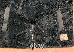 Nike Air Jordan Black Cat Sherpa Coaches Mens Jacket Brand New With Tags Large