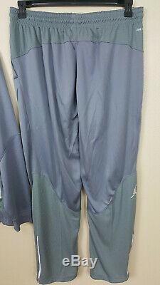 Nike Air Jordan Dri-fit Basketball Suit Jacket + Pants Cool Grey New (size 3xl)