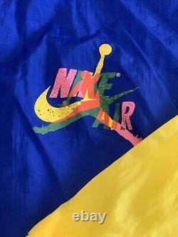 Nike Air Jordan Retro Vintage Style Jacket Windbreaker Size Small S NWT