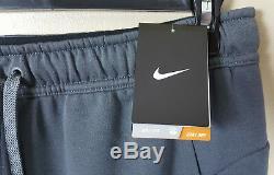 Nike Dri-fit Training Suit Jacket + Pants Grey White New Rare (sz Large Medium)