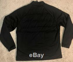 Nike Golf Aeroloft Full Zip Jacket Black Water Repel 932235-010 NEW Men's $250