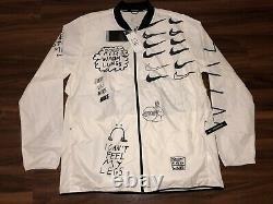 Nike Nathan Bell Mens Printed Running Jacket AJ7759-133 Size Large