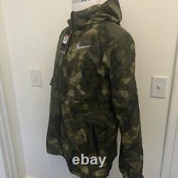 Nike Shield Ghost 3M Flash Jacket Camouflage Reflective Mens MSRP $175 NEW