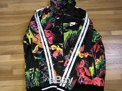 Nike Sportswear NSW Printed Track Jacket AR1611-389 Floral Printed Size Large