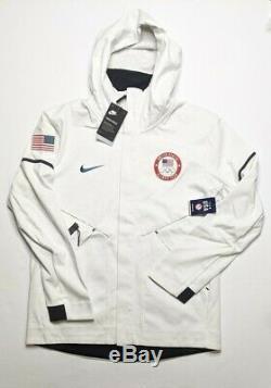 Nike Tech Fleece Windrunner Hoodie Team USA Olympics Size M MEDIUM 909530-100