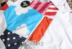 Nike x Parra Tracksuit Half Zip Jacket White Size Small Medium S M New