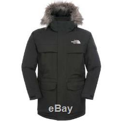North Face Mcmurdo Parka Mens Jacket Down Tnf Black All Sizes