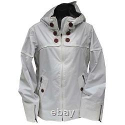 Oakley Lighter Fare Womens Snow Jacket M Medium White Gretchen Bleiler Warm Ski