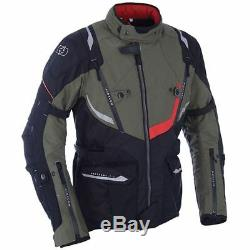 Oxford Montreal 3.0 Textile Waterproof Motorcycles Jacket Army Green