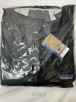 PATAGONIA MENS Torrentshell JACKET BLACK SIZE Large NWT 83802