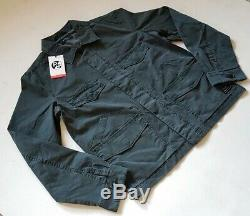 PAUL SMITH FLACK JACKET COAT Size M (42) Grey Green Cotton New W Tags RRP £180