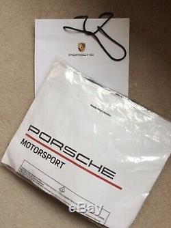 PORSCHE MOTORSPORT TEAM JACKET NEW rrp £200