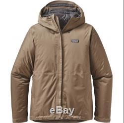 Patagonia Men's Insulated Torrentshell Jacket Mojave Khaki Medium MSRP $279 NEW