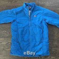 Patagonia Mens Nano-Air Light Jacket Big Sur Blue Large New Retail $249