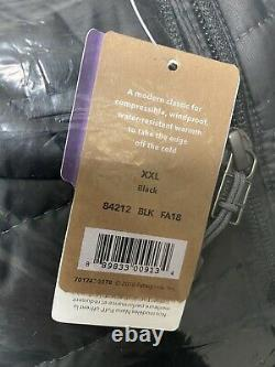 Patagonia Mens Nano Puff Jacket Black Size XXL Nwt 84212