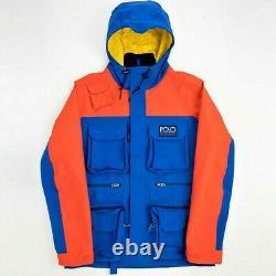 Polo Ralph Lauren Field Jacket 2XL Hi-Tech Utility Waterproof Sports Anorak XXL