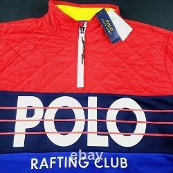 Polo Ralph Lauren Hi Tech Rafting Club Cp93 Stadium 1992 Snow Beach Pullover 2XL