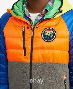 Polo Ralph Lauren Performance Men's Great Outdoors Ripstop Hybrid Down Jacket
