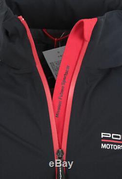 Porsche Motorsport men's functional wind jacket windbreaker black