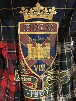RARE Polo Ralph Lauren Tradition Forever 1967 Championship Plaid Jacket Sz L NWT