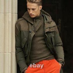 Ralph Lauren Purple Label RLX Wool Hybrid White Down Parka Jacket Coat $2,995