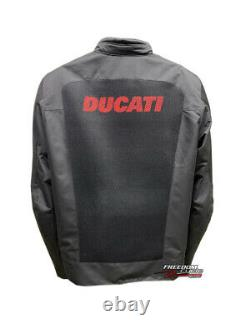 Sale New XXL Ducati Flow 2 Mens Mesh Armored Jacket Size Lightweight Breathable