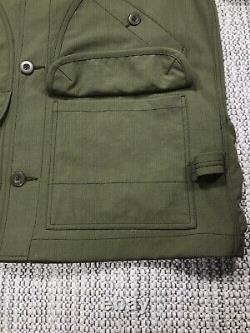 Snow Peak Takibi Coverall Jacket, Men's Extra Large, Brand New, Olive Green