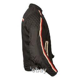 Spada Utah Winds Retro Ce Mesh Vented Moto Summer Motorcycle Motorbike Jacket