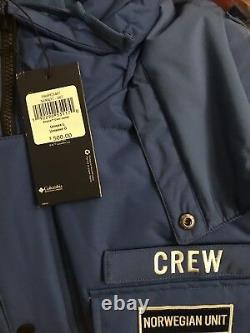 Star Wars Columbia Empire Crew Parka Jacket Coat Limited Edition Large L In HAND