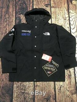 Supreme The North Face Expedition Jacket Black Large New Free Shipping TNF