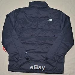 TNF New Medium Mens THE NORTH FACE puffer down Winter SKI jacket coat Black trek