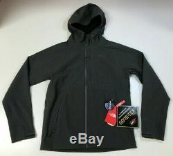 The North Face Men's Apex Flex Goretex Jacket Dark Grey Size Medium $229 NEW