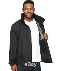 The North Face Men's Resolve 2 Jacket Waterproof Shell DryVent TNF Black NWT